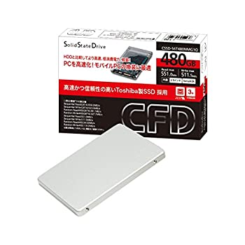 CFD販売 SSD 480GB 2.5inch TOSHIBA製 内蔵型 SATA6Gbps CSSD-S6T480NMG1Q