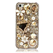 NOVA Case Glamour Bling Crystal iPhone Case iPhone 5 Floral Evening Bag