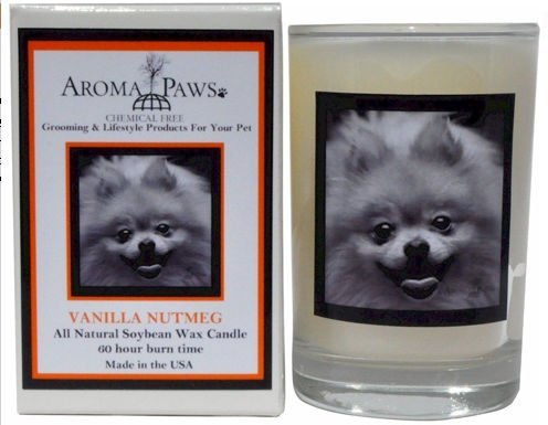 Aroma Paws 307 Breed Candle 5 Oz. Glass-Gift Box - Pomeranian