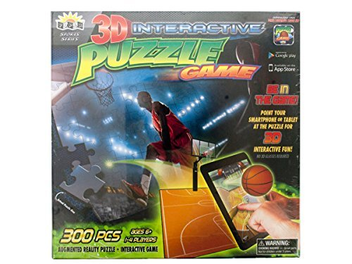 3D Interactive Basketball Puzzle Game Kids Children by bulk buys