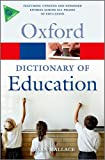 A Dictionary of Education (Oxford Paperback Reference) thumbnail
