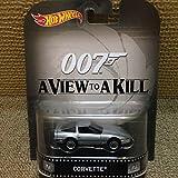 "Corvette James Bond 007 ""A View to A Kill"" Hot Wheels ホットウィール 2015 Retro Series 1/64 Die Cast Vehicle [並行輸入品]"