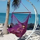 Caribbean Jumbo Hammock Chair (Purple)-by-caribbean