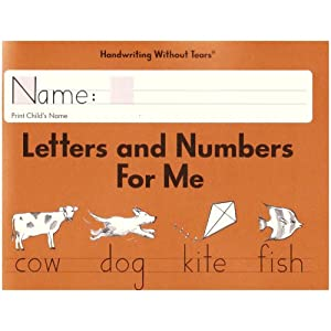 Letters and Numbers for Me