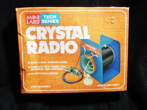 Mini Labs Tech Series Crystal Radio (Crystal Radio Kit compare prices)