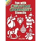 "Fun with Christmas Ornaments Stencils (Dover Little Activity Books)von ""Marty Noble"""