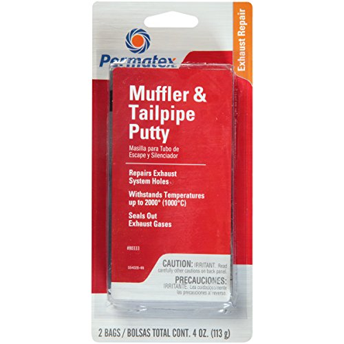 Permatex 80333 Muffler and Tailpipe Putty, 4 oz. (Exhaust Joint Sealer compare prices)