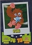 Topps No.128 Furi Foil Card Moshi Monsters Mash Up Trading Card