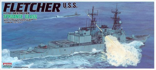 ARII 1:700 43130-1200 Fletcher Destroyer Spruance Class New in Sealed Box