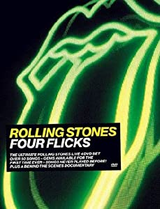 Rolling Stones - Four Flicks (4 Dvd)