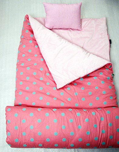 SoHo-Kids-Collection-Pink-Aqua-Sleeping-Bag