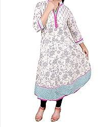 Unique Creation world Women's Cotton Unstitched Kurti Fabric(UCW02_MultiColoured_Free Size)