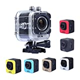 SJCAM Original 12mp 1080p 1.5 Inch LCD Display 170°a+ Hd Wide-angle 4x Zoom Mini Size Portable Micro USB 2.0/hdmi Support 32g Tf Card with 900mah Rechargeable Battery Underwater 30m Include Various Accessories Full Hd Head Sports Outdoor Car Recorder Car Recorder DVR Cam Action Camera Sports Camera Helmet Cam Various Color