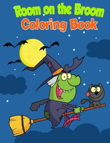 Room on the Broom Coloring Book PDF