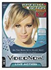 Videonow Personal Video Disc On the Road with Hilary Duff