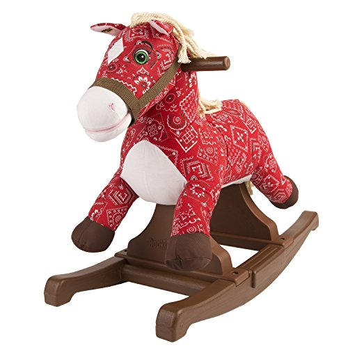 Rockin' Rider 5-20342M1 Flowers Vintage Rocking Pony Ride On - 1