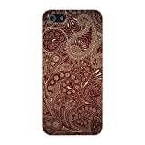 Brown Paisley Pattern Hard Case Cover iPhone 5C Reviews