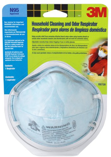 3M R8730B Household Cleaning and Bleach Odor Respirator