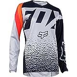 2018 Fox Racing Youth Girls 180 Jersey-Grey/Orange-YXL