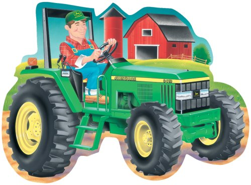 Cheap Fun Great American Puzzle Factory John Deere Tractor Giant Shaped Floor Puzzle (B000066G46)