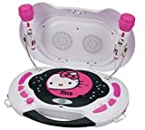 Hello Kitty CD Player and Karaoke System KT2003MBY