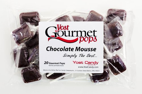 Yost Gourmet Pops, 20 Count Bag - Chocolate Mousse front-841767