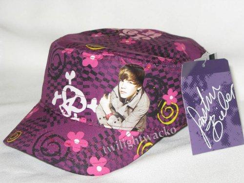 justin bieber purple cap. Justin Bieber Purple Hat Skull