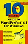 10 Minute Guide to Wordperfect 6.1 fo...
