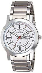 Maxima Attivo Analog White Dial Mens Watch - 24900CMGI
