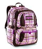 JanSport Classic Merit Backpack, Shell Tan Dark Side Plaid