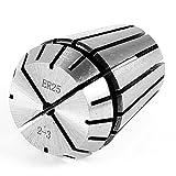 uxcell コレットチャック ビットホルダー 旋盤アクセサリ ER25 CNC 2-3mm直径