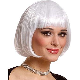 Sassy Wig - Platinum Adult Flapper Costume Accessory