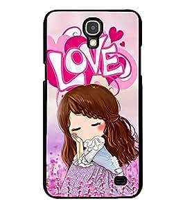 Printvisa 2D Printed Love Girl Designer back case cover for Samsung Galaxy Mega 2 G750F- D4149