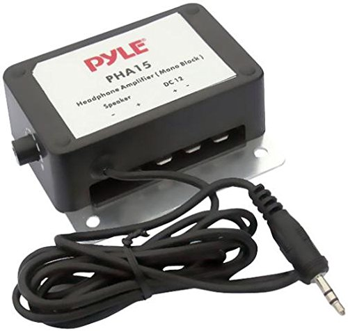 Pyle Home PHA15 3.5mm 1/8-Inch 150 Watt Mono Audio Amplifier