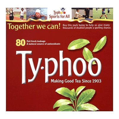 Typhoo Tea Box 80 Tea Bags 250G By Ty.Phoo [Foods]