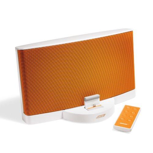 支持苹果Lightning接扣,Bose SoundDock Series III 专为苹果设几底座音箱,橙色款