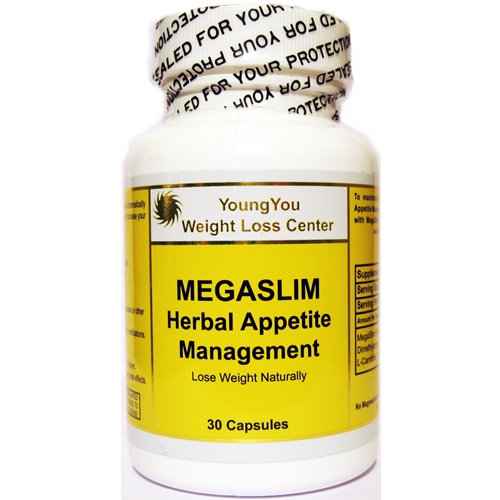 Megaslim Herbal Appetite Suppressant Diet Pills