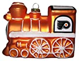 Philadelphia Flyers NHL Hockey Blown Glass Train Engine Christmas Ornament at Amazon.com