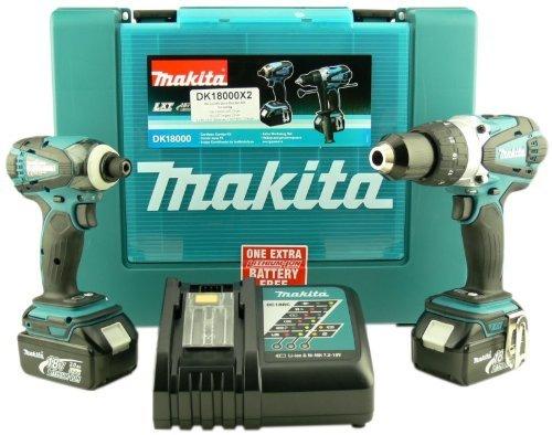 Makita-BHP-458-18V-Li-Ion-Akku-Schlagbohrschrauber-Makita-BTD-146-Li-ion-Akku-Schlagschrauber-SET