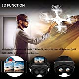 DBPOWER X705C FPV 3D Function 2.4 GHz 6 Axis Quadcopter RC Drone with 0.3 MP Camera for iOS and Android