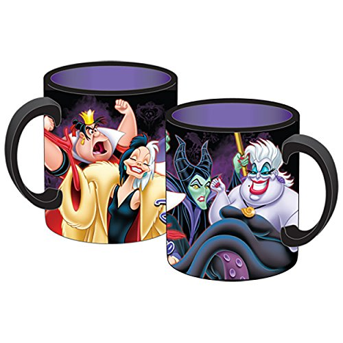 Disney Ursula Evil Queen Malificent Queen of Hearts Ceramic Jumbo Coffee Mug 14fl. Oz. (Avengers Coffee Mug Set compare prices)