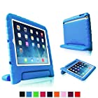 Fintie Apple iPad mini with Retina Display (2nd Generation) Kiddie Series Light Weight Shock Proof Convertible Handle Stand Case Kids Friendly - Blue
