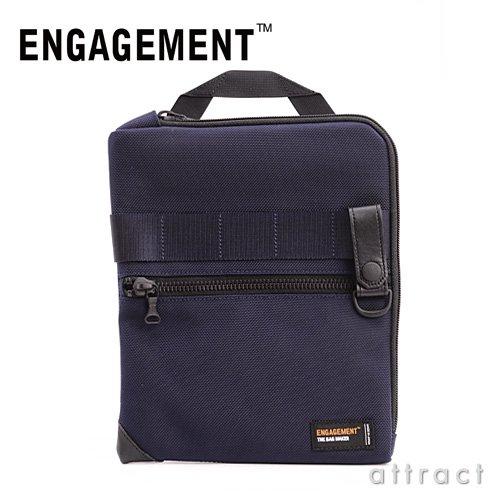 【正規取扱販売店】ENGAGEMENT エンゲージメント Engaged Nylon エンゲージド・ナイロン Tablet Case/タブレットケース iPad対応サイズ(EGTC-001) (ネイビー)