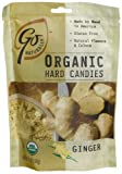 GoNaturally Organic Ginger Gluten Free Hard Candies, 3.5-Ounce Bags (Pack of 6)
