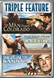 Triple Feature: Man from Colorado / Man from Laramie / Man in the Saddle (Sous-titres français) [Import]