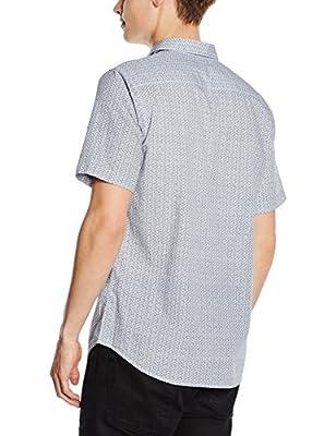 New Look Men's Alpha Motif Casual Shirt