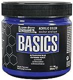Liquitex Basics Pot de Peinture acrylique 946 ml Bleu outremer