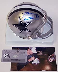 Jason Witten Autographed Hand Signed Dallas Cowboys Mini Football Helmet by Creative Sports