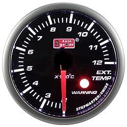 排気温度計 ワーニング機能付