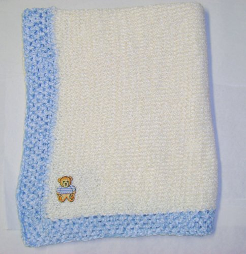 Hand Knitted Baby Blanket back-330490